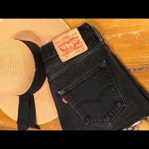 Vintage 501 Levi's- cut into jeans shorts